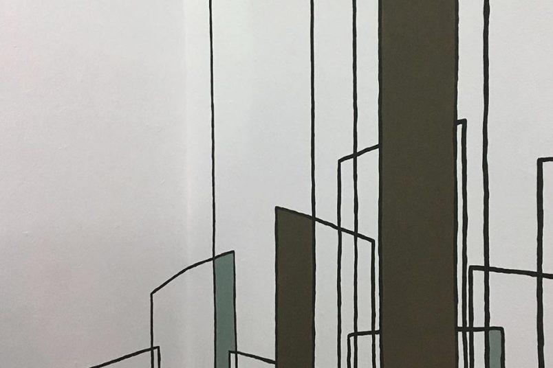 Wandmalerei von Marlies Kuhn