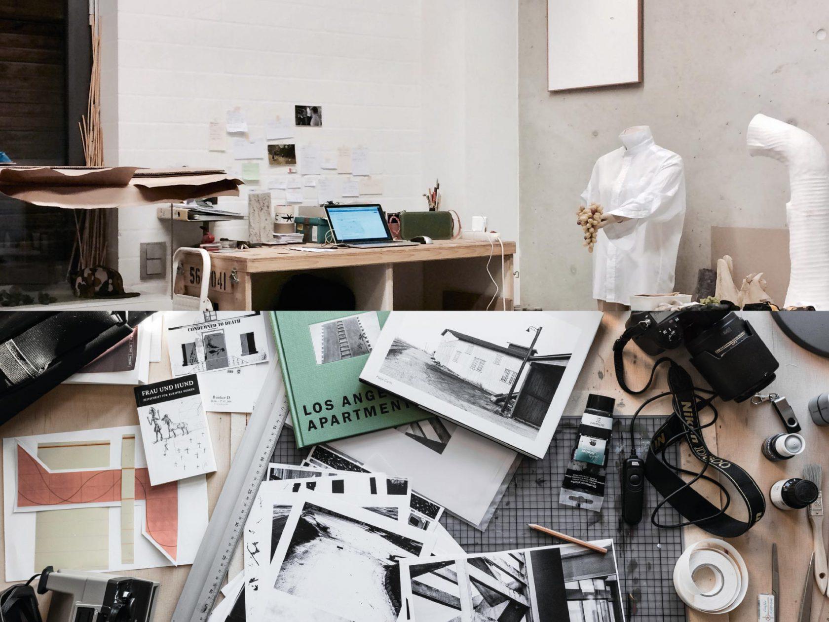 Ateliers: oben Thomas Judisch, darunter Wolfgang Meyer-Hesemann