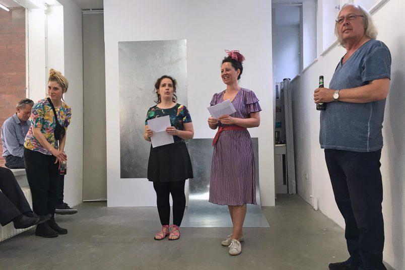 Eröffnung Regine Schulz, Bildhauerei