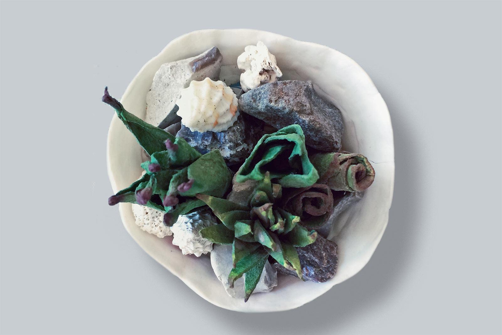 Papierpflanze von Ekaterina Ezhkova