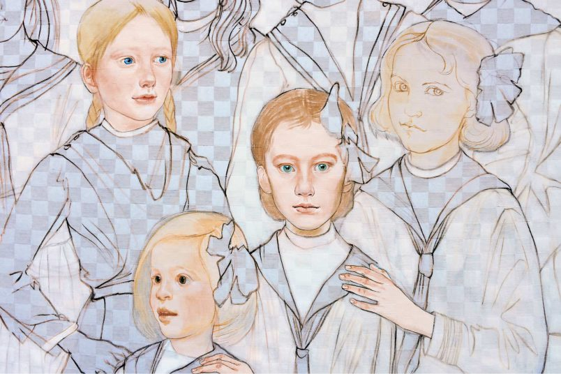 Kinder zählen zu den liebsten Motiven der Malerin Ekaterina Ezhkova