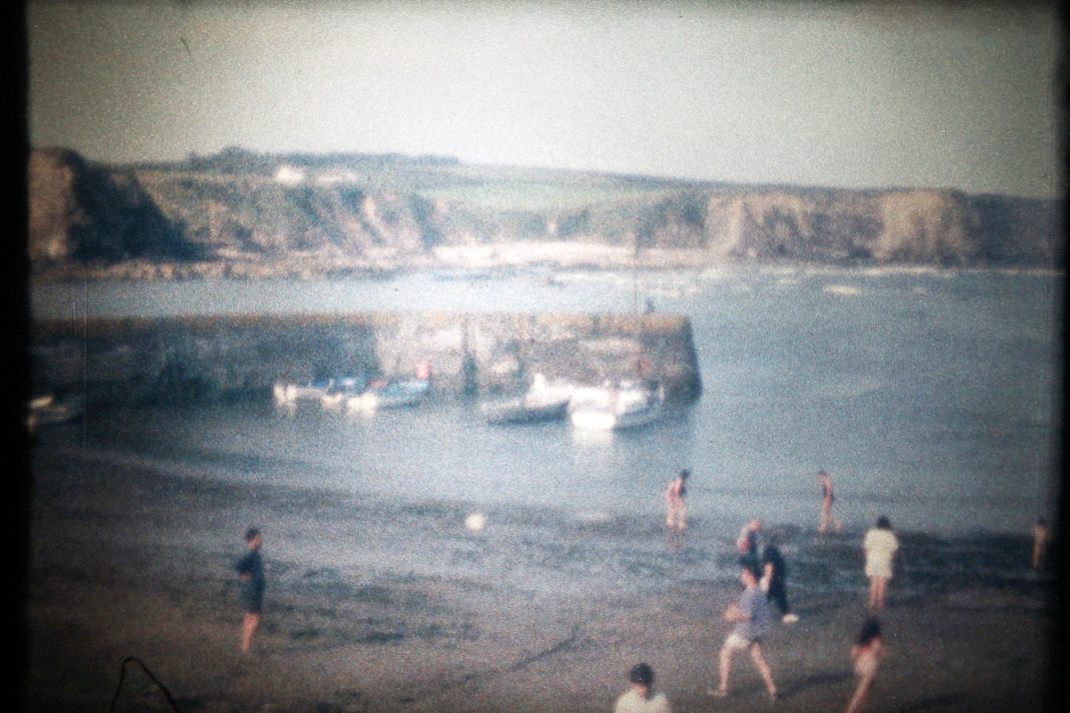 Szene aus dem Irlandfilm