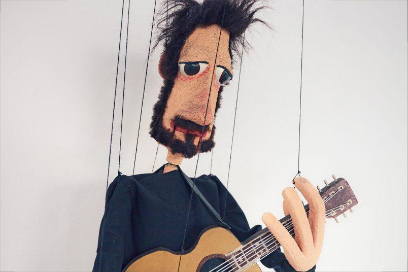Revolverheld-Marionette (aus dem Video 'Lass uns gehen')