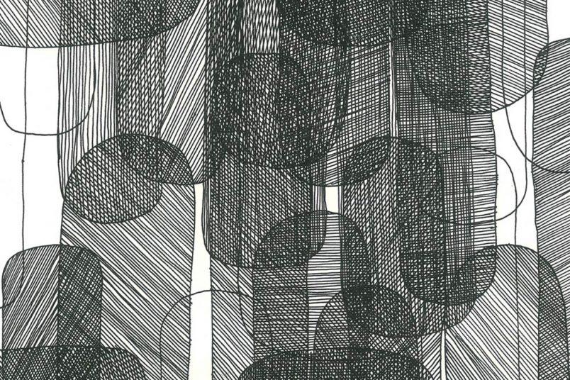 Guilin 2, 2016, Tinte auf Papier, 20 x 27 cm