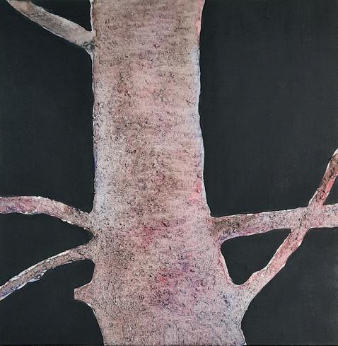 Britta Bromba, Ultraligero, 30 x 30 cm, Acryl - Aquarell - Kreide, € 125,00