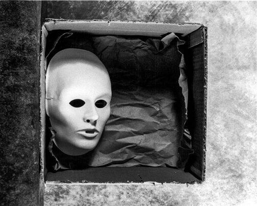 Wolfgang Meyer-Hesemann BOX MASK I, analoge Fotografie, € 100,00