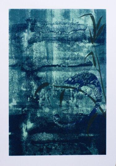 Cameleon de Paradis, Siebdruck, 50 x 70cm, € 200,-