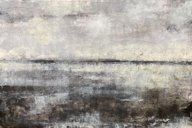Zwischenstation, mal eben, 2018, Acrylmalerei, 150 x 100 cm, € 1.250,-