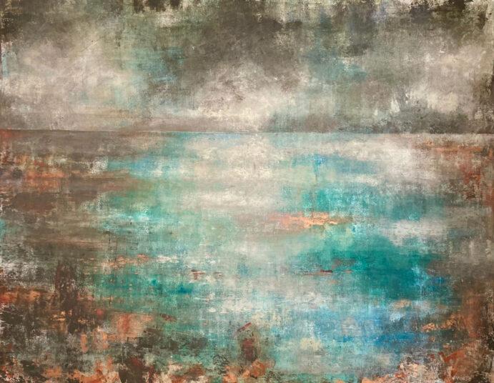 o.T., 2021, Acrylmalerei, 150 x 120 cm, € 1.250,-