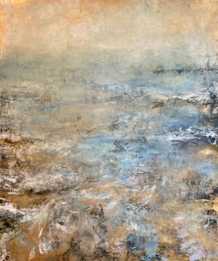 o.T., 2021, Acrylmalerei; 100 x 120 cm, € 1.050,-