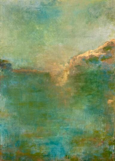 o.T., 2021, Acrylmalerei; 70 x 100 cm, € 800,-