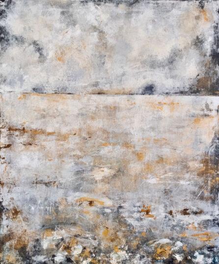 Nach dem Regen, 2019, Acrylmalerei, 100 x 120 cm, € 900,-